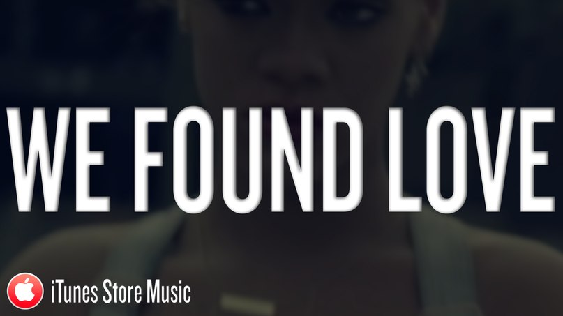 We Found Love (Alessio Silvestro Remix), Rihanna feat. Calvin Harris
