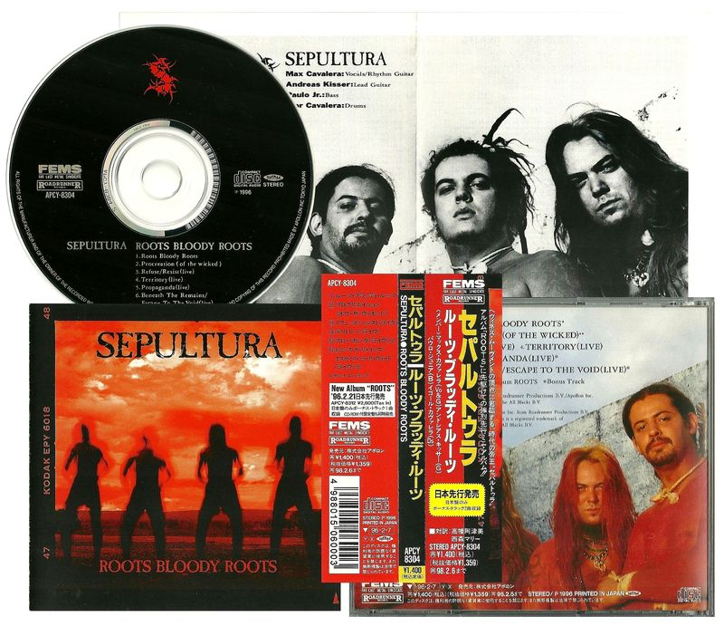 Roots Bloody Roots, Sepultura